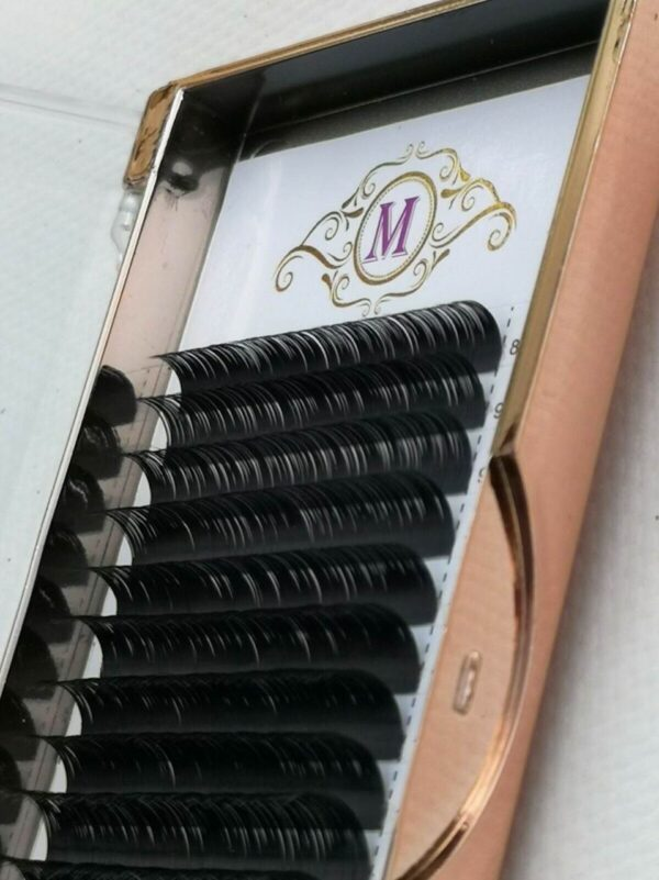 mink lashes curl d individual lashes extension