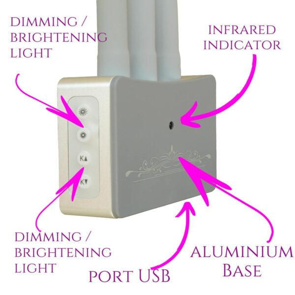 led lamp base